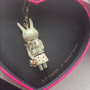 Rare Fifi Lapin x juicy couture necklace